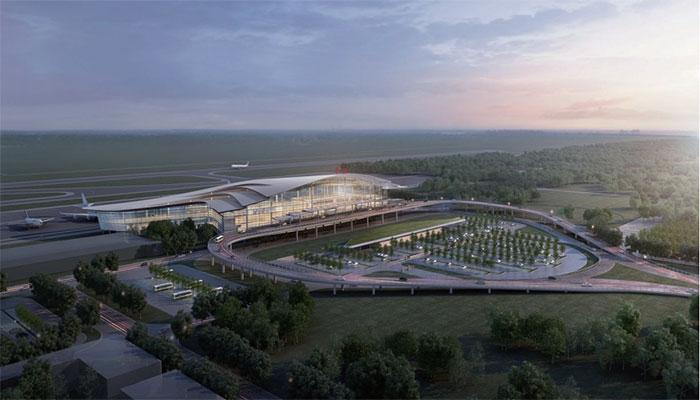 阜阳机场扩建钢结构项目安装工程